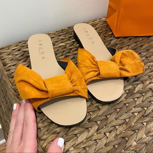 Zara slipper sandals